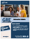 GRE Information Bulletin