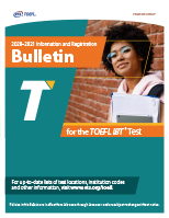 TOEFL iBT Registration Bulletin