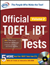 Tests officiels TOEFL iBT Volume 2