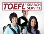 TOEFL Search Service Video