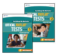 Official TOEFL iBT Tests, Volumes 1 e 2