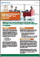 Mapping the Redesigned TOEIC Bridge® Tests on the CEFR flyer