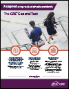 GRE Test Taker Flyer