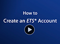 How to Create an ETS Account