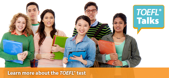 Learn more about the TOEFLtest with a free TOEFL Talks Seminar