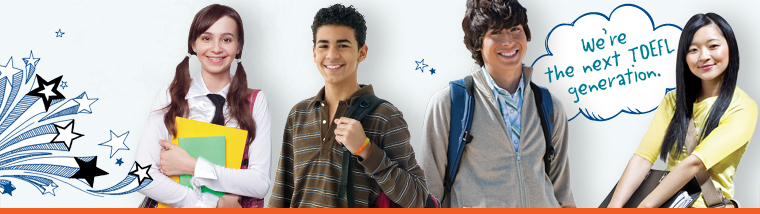 We're the next TOEFL generation. Grow your students' potential with the TOEFL Junior tests.